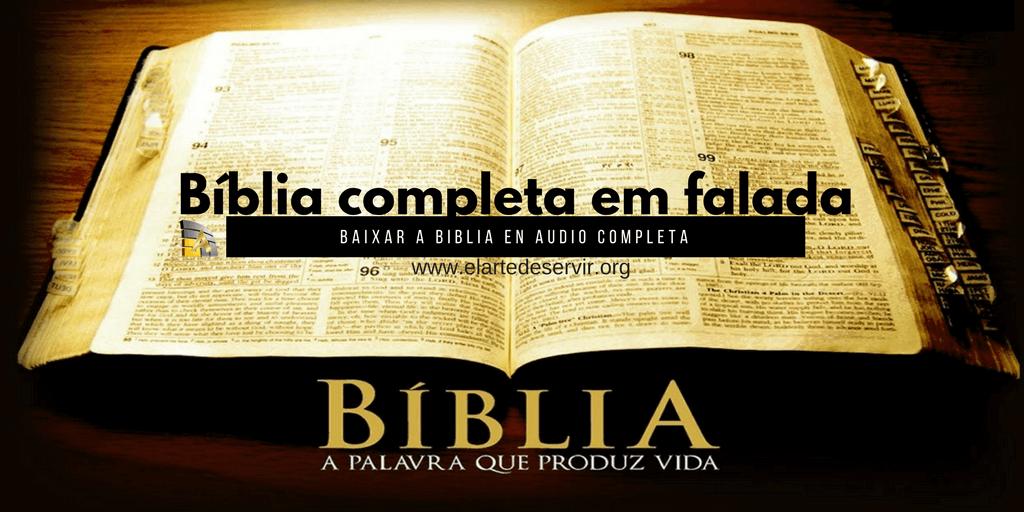Bíblia completa em falada Portugues Baixar a biblia en audio completa