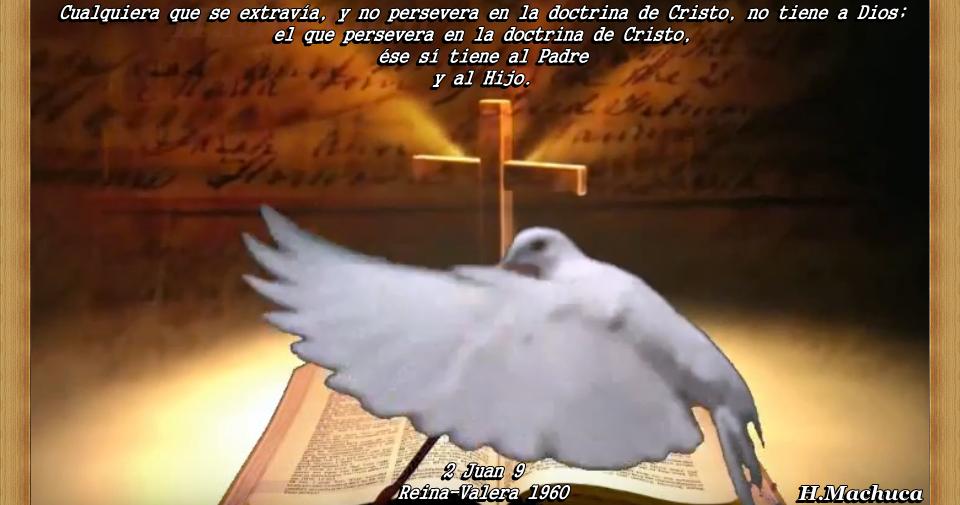 LA PUNTA DE LANZA DE FINEES:  Cualquiera que se extravía, y no persevera en la doctrina de Cristo, no tiene a Dios.